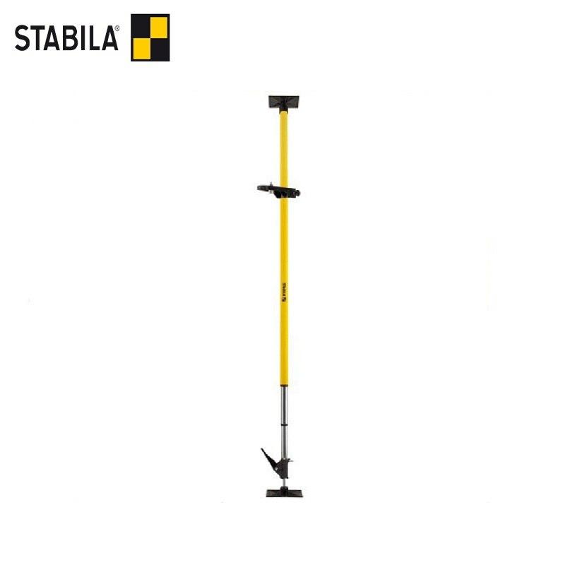 STABILA Telescopic strut LT30 (up to 365 cm) Tripod Holder Stand Mount Telescopic + 5/8 thread Adjustable measuring tool gps mount stand holder for tomtom v4 black