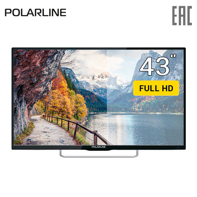 TV 43 Polarline 43PL51TC FullHD 4049inchTV dvb dvb-t dvb-t2 digital