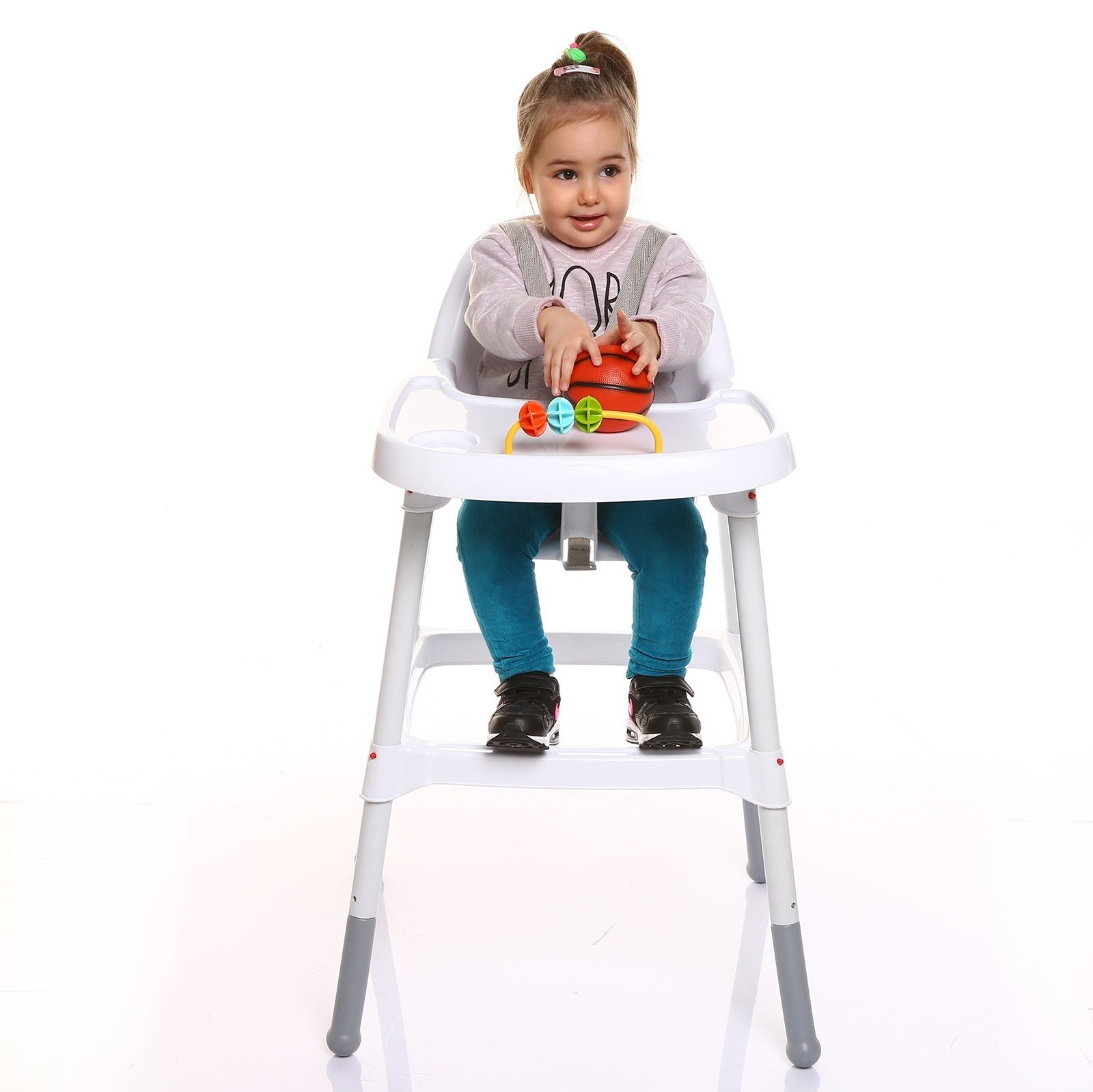 Ebebek Baby&plus Diny Foldable Baby Feeding High Chair