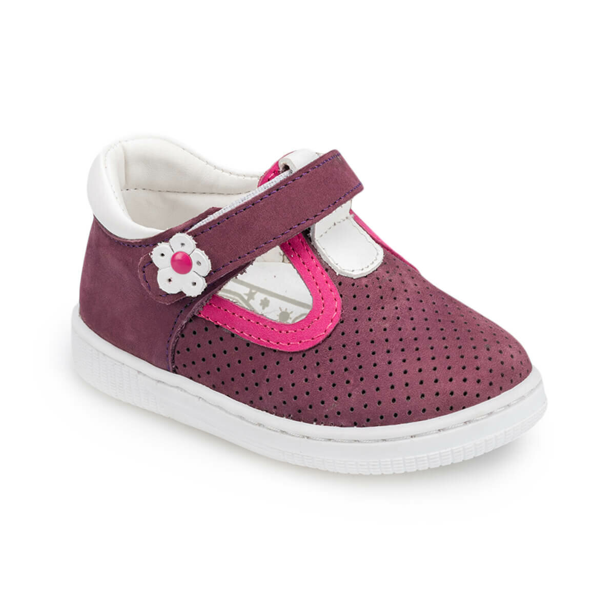 FLO 91.511329.I Purple Female Child Shoes Polaris