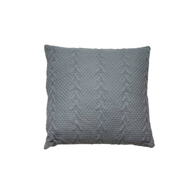 Cushion Stitch Gray (45x45x10 Cm)