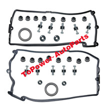 цена на OEM Head & Valve Cover Gasket Set Left Right 11127513194 11127513195 For BMWW 550i 650i 750i 545i 645Ci 745i 745Li X5 E70 Alpina