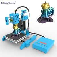 EasyThreed Small Mini 3d Printer Cheap PLA Resin FDM Mini Impressora 3d Brasil Russian Warehouse impresora 3d Imprimante X1