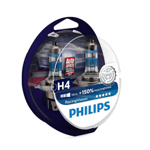 PHILIPS 12342RVS2 H4 12 V-60/55 W (P43t) (+ 150% light) racing Vision (2 pcs) 52333
