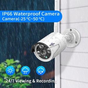 """Image 4 - Hiseeu 8CH 3MP كاميرا مراقبة لاسلكية طقم CCTV مع 10.1 """"رصد ل 1536P 1080P 2MP في الهواء الطلق نظام الكاميرا الأمن مجموعة"""