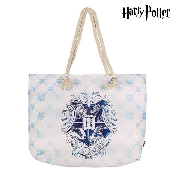 Beach Bag Harry Potter 72925 Turquoise Cotton