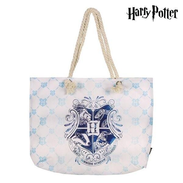 Beach Bag Harry Potter 72925 Turquoise Cotton
