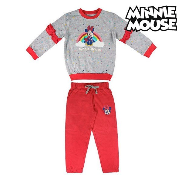 Children's Tracksuit Minnie Mouse 74788 Grey