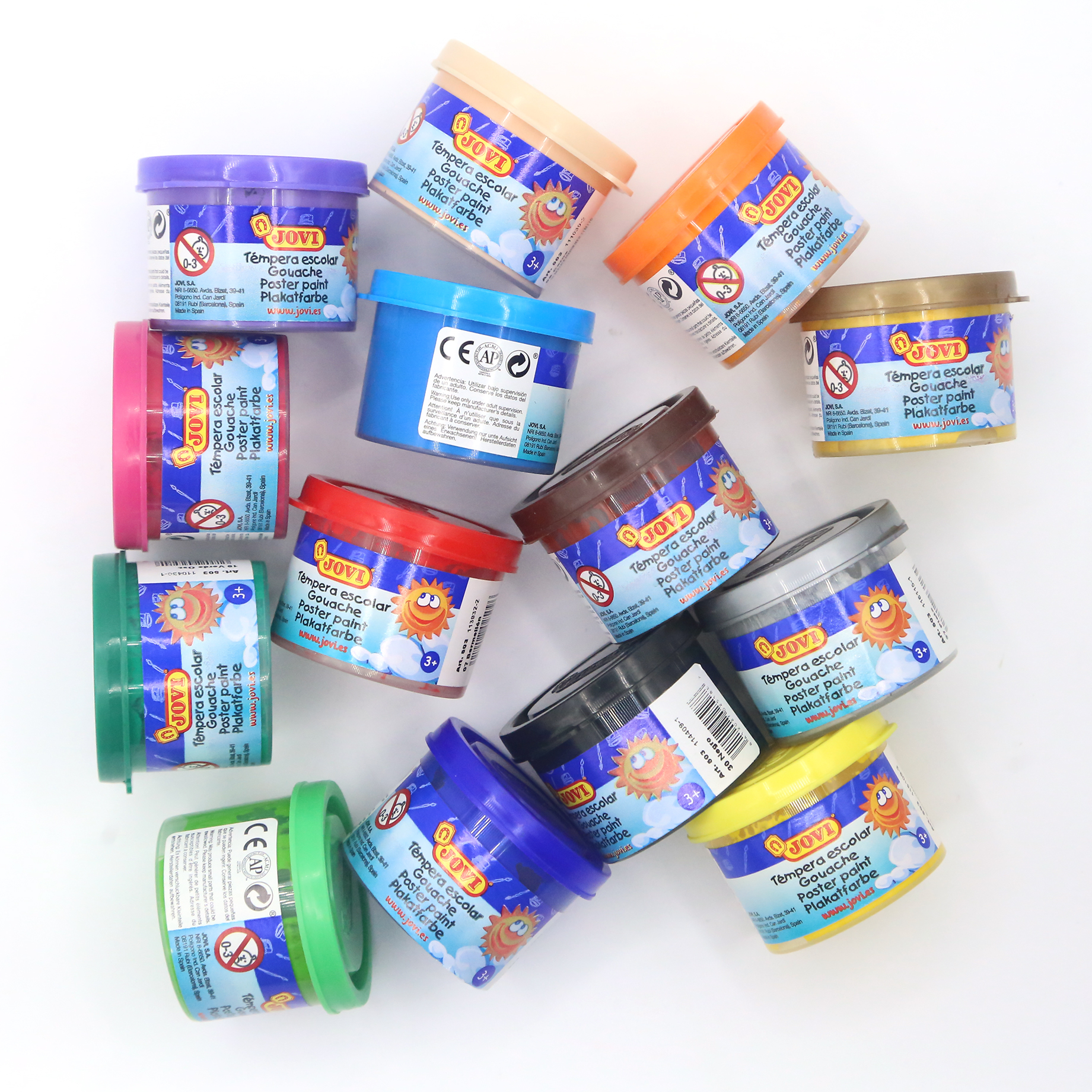 1ud Tempera Paint Liquid Painting For Kids School Gouache Colors Of Drawing Toy DIY