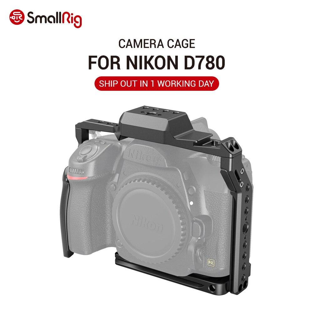 Cage de caméra small rig D780 pour appareil photo Nikon D780 avec plaque de Style Arca pour un dégagement et un détachement rapides 2833