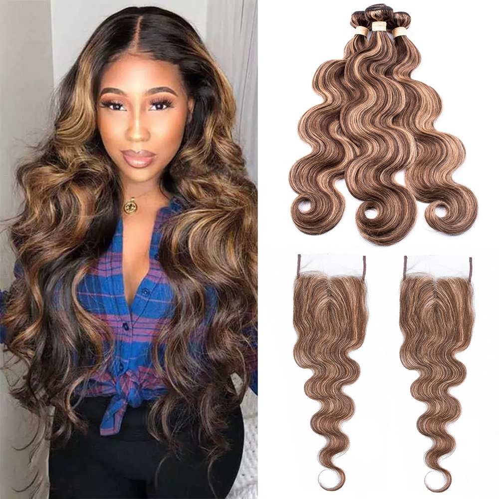 Body Wave 4x4 T Lace