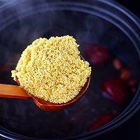 """#美食说出""""新年好""""#紫薯花生小米粥的做法图解7"""