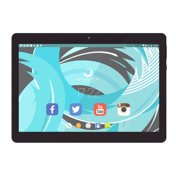 "Tablet BRIGMTON BTPC-1020QC 10"" 16 GB Wifi Quad Core Black"