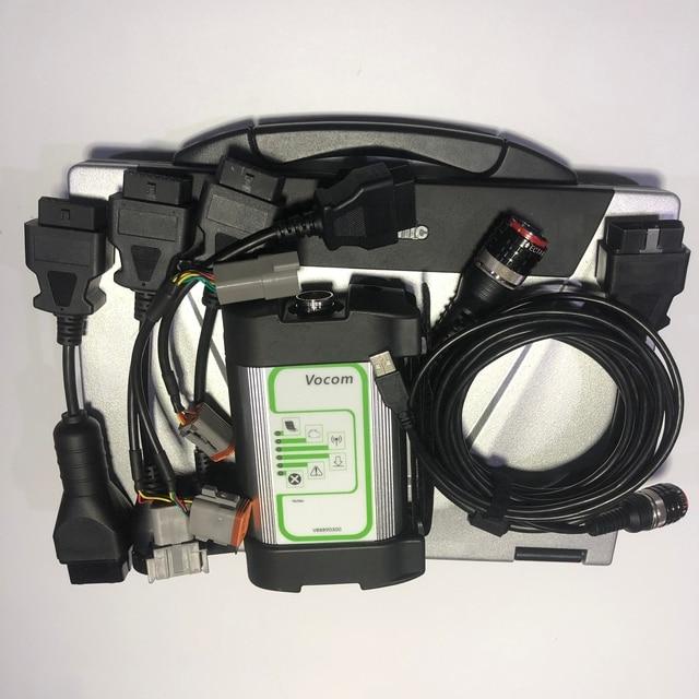 Diagnóstico de motores diesel marinos industriales para volvo penta herramienta de escáner de diagnóstico volvo VODIA5 + Toughbook CF52 laptop
