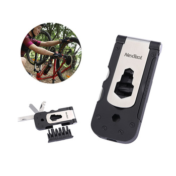 NEXTOOL 14 -in -1 Multi-functional Cycling Tool Mini Pocket Bike Kit Delicate Portable Magnetic Suction Batch Set image
