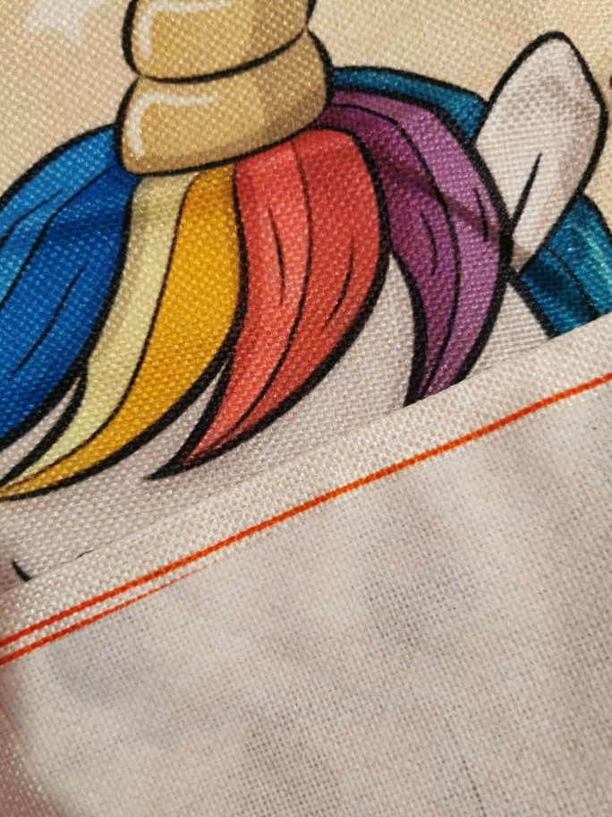 Patterned Design Linen Creative Arts Apron photo review