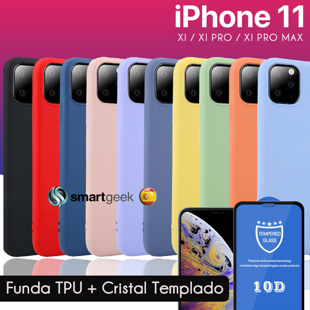 TPU Gel case for iPHONE 11Pro Max iphone11 Pro 5.8 6.1 6.5 soft shell color colorful silicone