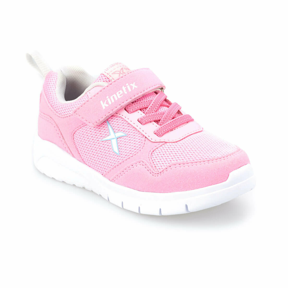 FLO RINTO Light Pink Female Child Walking Shoes KINETIX