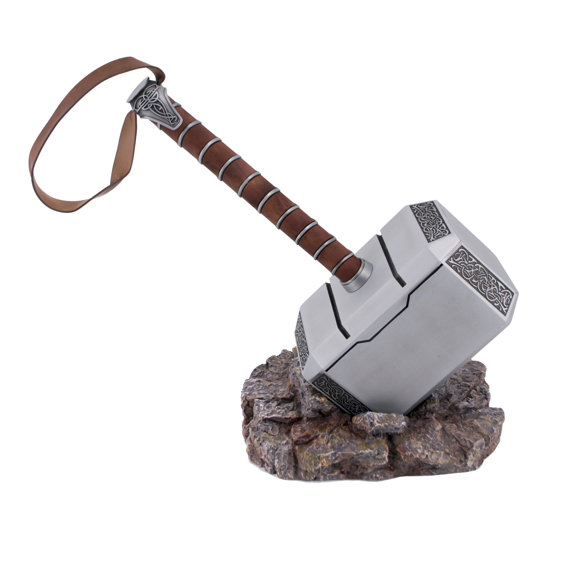 Figure S0219 Model Breaker Hammer Thor. Replica Not Official. Breaker Hammer's Done Steel, Nicely Detailed. Contains A S