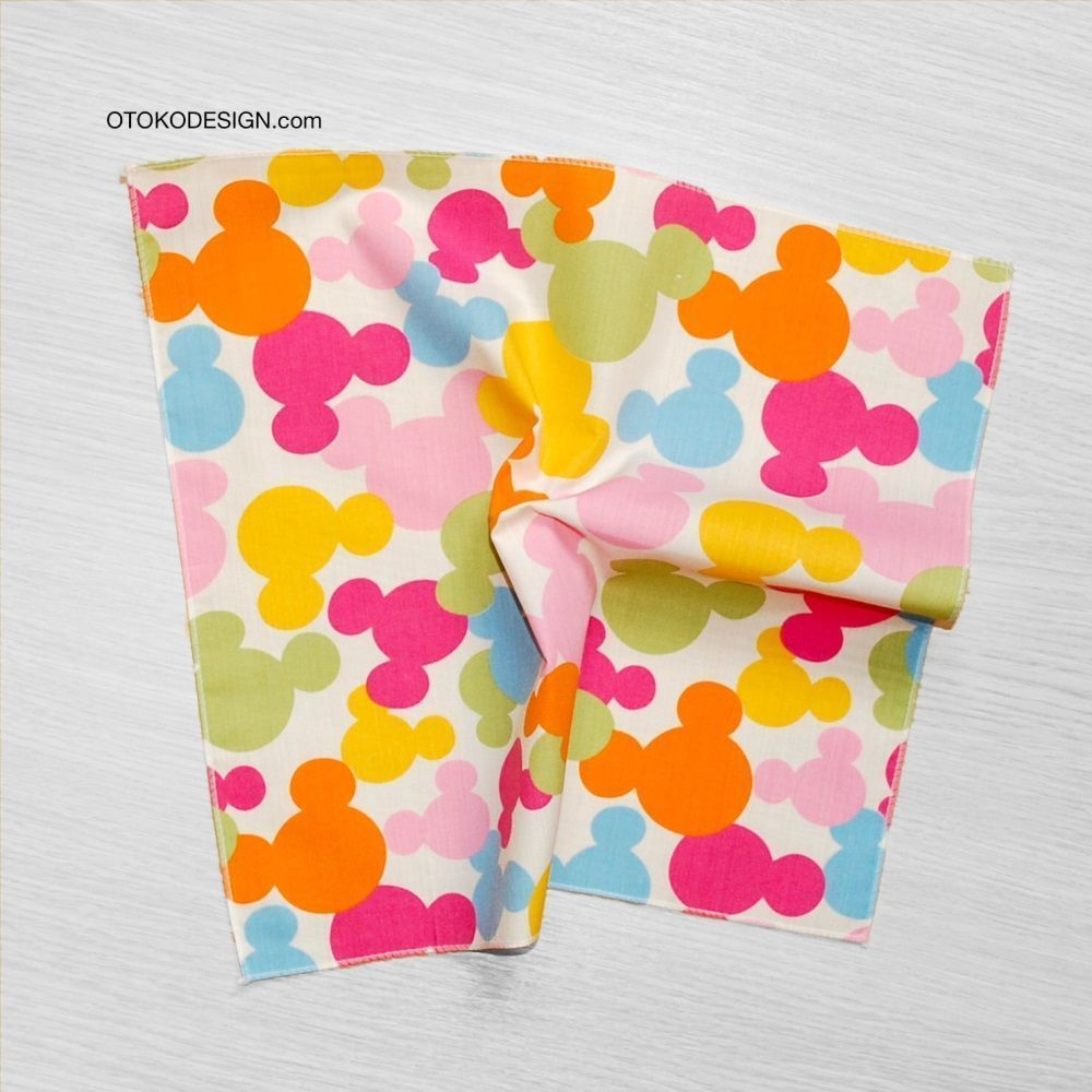 Pocket Square In Jacket Pocket Mickey Mouse Multi-colored (51826)