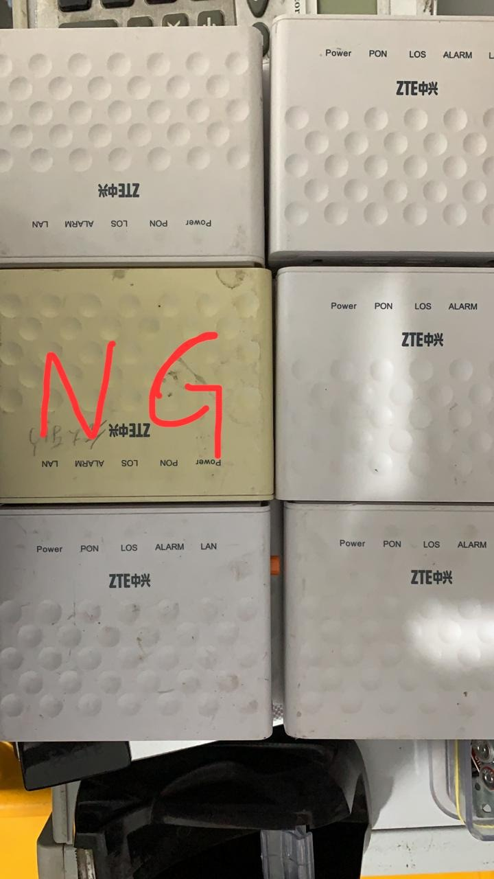 14pcs/Lot ZTE F601 Onu Gpon Used Second-hand ONU Without Power Adapter