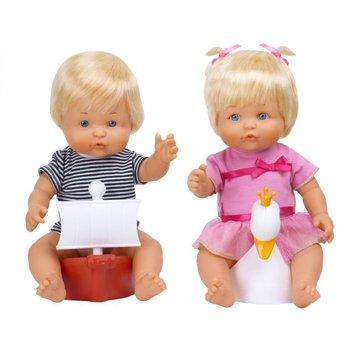 Muñecas Famosa gemelos nenuko en macetas