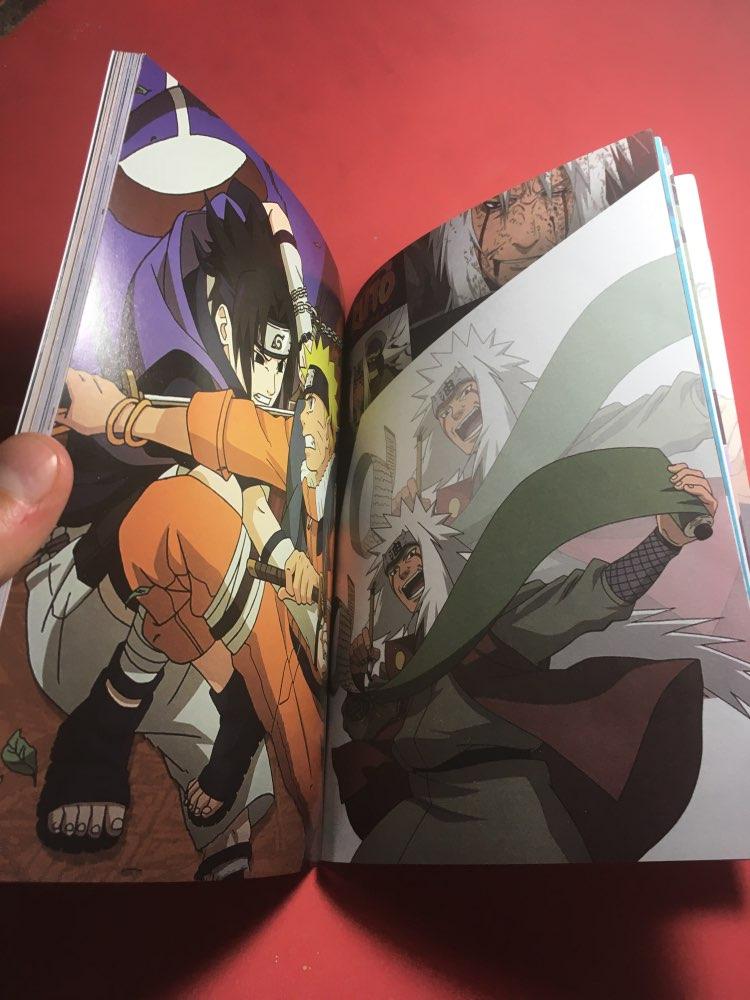 Naruto Kakashi Hatake Jiraiya Notebook photo review