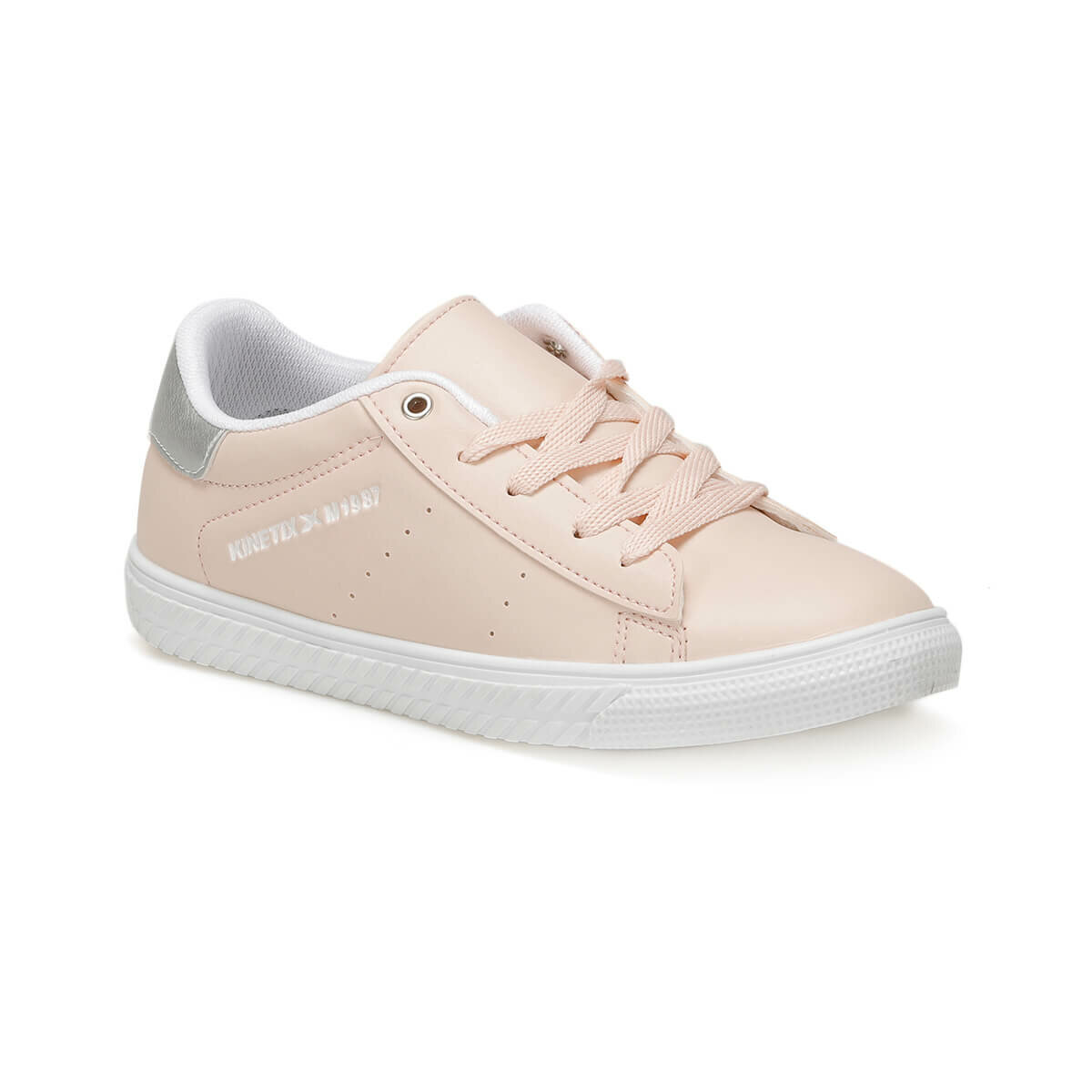 FLO WHITNEY J Light Pink Female Child Sneaker Shoes KINETIX