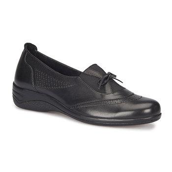 FLO 72 110090 Z czarne buty damskie Polaris 5 Point tanie i dobre opinie Polaris 5 Nokta Trzciny