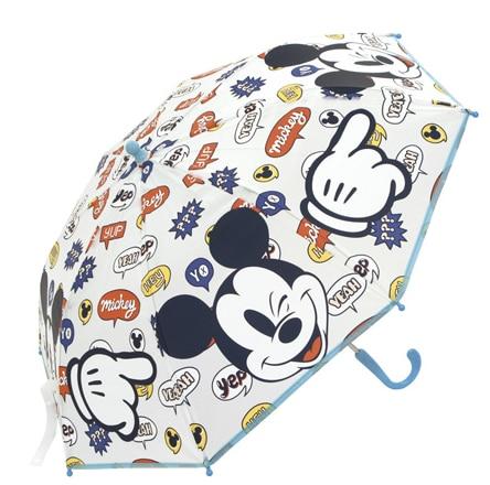 Paragua Handbook Mickey Disney Transparent 46 Cm.
