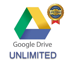 Неограниченное хранилище Gooogle Drive с персональным Gmail