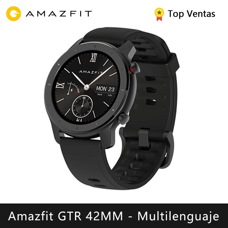 Xiaomi Huami Amazfit GTR 42mm montre intelligente (bluetooth montre intelligente GPS céramique lunette anneau sport android IOS) [Version mondiale]