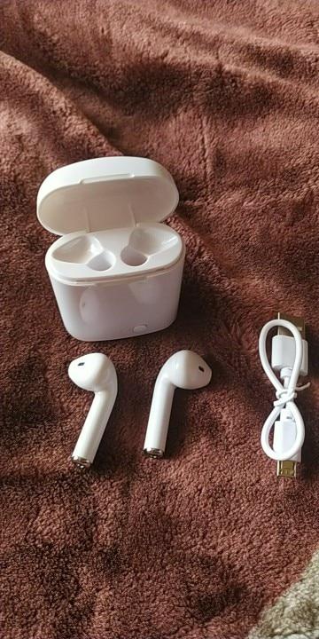 i7s Tws Bluetooth Earphones Mini Wireless Earbuds Sport Handsfree Earphone Cordless Headset with Charging Box for xiaomi Phone Bluetooth Earphones & Headphones    - AliExpress