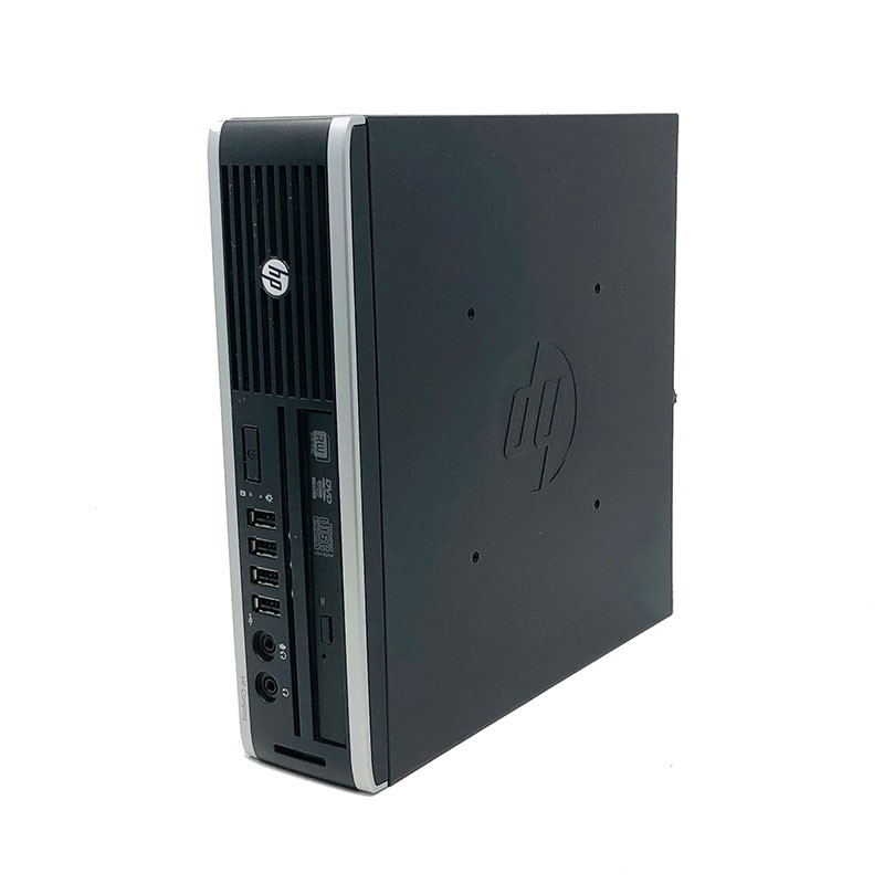 HP Elite 8300 USDT-desktop Computer (Intel Core I3-3220, 3.3 Ghz, 4 Hard GB RAM, HDD 500 Hard GB, Reader, Windows 10 Home)-