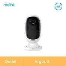 Reolink – caméra de surveillance intérieure/extérieure IP WiFi HD 1080P (Argus 2), dispositif de sécurité sans fil, Reolink, reconditionné