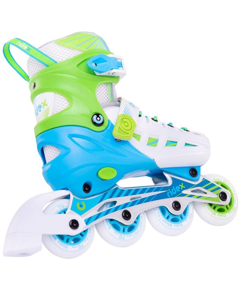 Rollers Sliding Ridex Twist, Alum. Frame