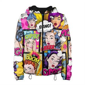 Женская куртка 3D POP ART