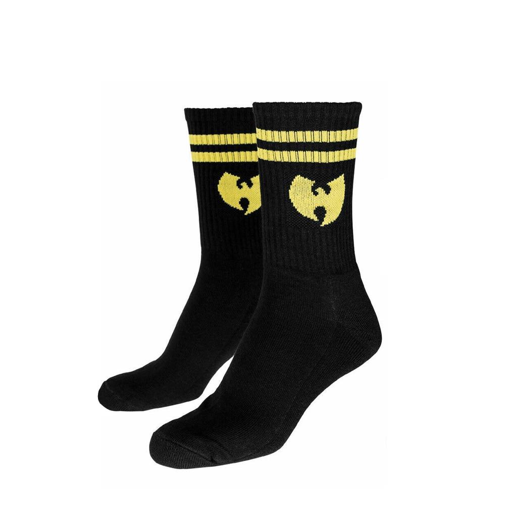Носки Wu Wear, городские модные носки Wu Tang Clan, черные, в стиле хип-хоп