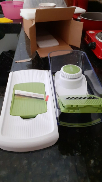 Kitchen Plastic Household Slicer Mandoline photo review