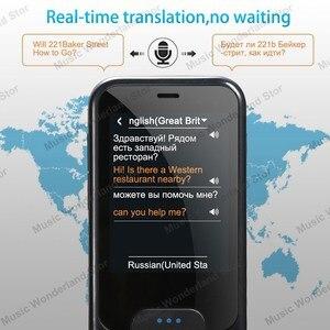 Image 3 - Touch Screen Smart Taal Vertaler 2.4 Inch WiFi Draagbare Voice Foto Vertaling meertalige Vertaler Met Mic Speaker
