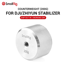 SmallRig DSLR Camera Removable Counterweight (200g) Balancing Moment for DJI Ronin S and for Zhiyun Gimbal Stabilizer 2285
