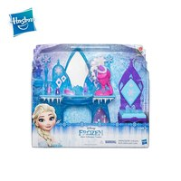 Furniture for dolls hold dressing table Elsa Disney Frozen cold heart cartoon house for dolls furniture toy game