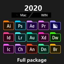 [Новейший] Adobe CC 2020 - 2021 Win 10 / Mac - Photoshop, Illustrator, After Effect, premipro, InDesign, lighroom