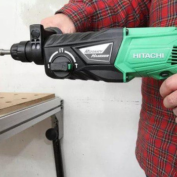 Hitachi DH24PH 730Watt 2.7J Professional SDS-Plus rotary Hammer drill набор sds plus hitachi htc 782532