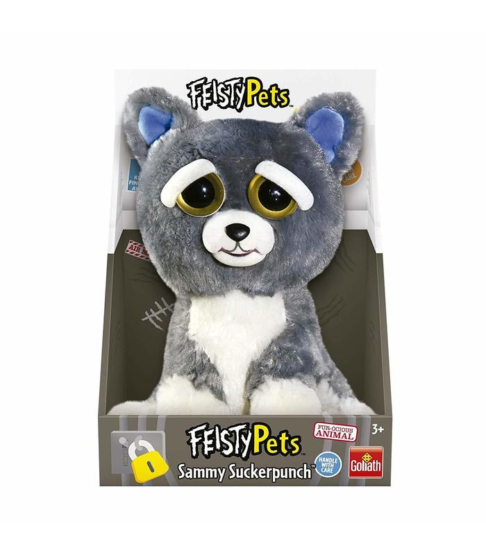 Feisty Pet Gray Dog Toy Store