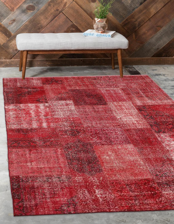 Sonst Rot Anatolian Patchwork Teppich Türkische Handgemachte Organische Bereich Teppich Dekorative Wohnkultur Wolle Patchwork Teppich Teppich