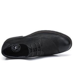 Image 3 - CAMEL Mens Shoes Comfortable Casual Shoes Men Genuine Leather Retro Fashion Business Soft Non slip Resistant Men Shoes