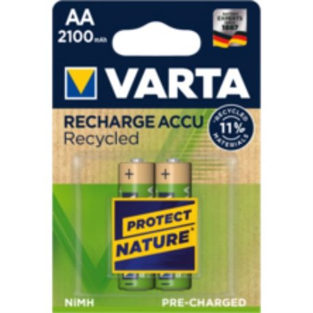 RECHARGEABLE Battery LR06 AA 2100MA VARTA 2 PZ