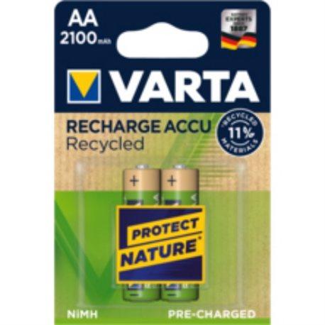 RECHARGEABLE Battery LR06 AA 2100MA VARTA 2 PZ