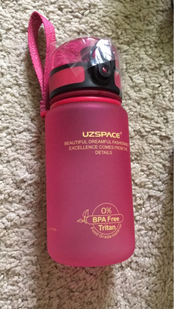 UZSPACE Sports Water Bottles Direct Drink or Straw My Bottle for Water 500ml Portable Leakproof Plastic Drinkware BPA Free-in Water Bottles from Home & Garden on AliExpress - 11.11_Double 11_Singles' Day